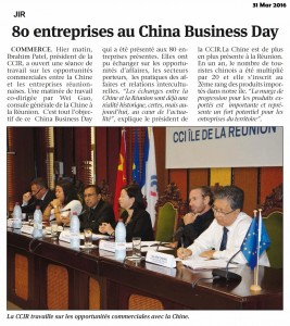 20160331 JIR 80 entreprises au China Business Day